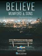 Cover icon of Believe sheet music for voice, piano or guitar by Mumford & Sons, intermediate