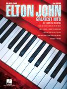 Cover icon of Tiny Dancer sheet music for piano solo (big note book) by Elton John and Bernie Taupin, easy piano (big note book)