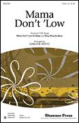 Cover icon of Mama Don't 'Low (with Ring, Ring The Banjo) sheet music for choir (2-Part) by Earlene Rentz, intermediate duet