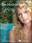 Cover icon of Tim McGraw sheet music for voice, piano or guitar by Taylor Swift and Liz Rose, intermediate