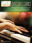Cover icon of Up On The Housetop, (intermediate) sheet music for piano solo by Benjamin Hanby, intermediate skill level