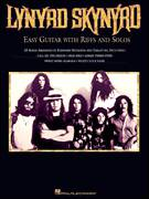 Cover icon of Down South Jukin' sheet music for guitar solo (easy tablature) by Lynyrd Skynyrd, Gary Rossington and Ronnie Van Zant, easy guitar (easy tablature)