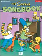 Cover icon of A Boozehound Named Barney sheet music for voice, piano or guitar by The Simpsons, Al Jean, Alf Clausen and Michael Reiss, intermediate skill level