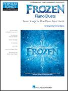 Cover icon of For The First Time In Forever sheet music for piano four hands by Kristen Bell, Idina Menzel, Kristen Anderson-Lopez and Robert Lopez, intermediate skill level
