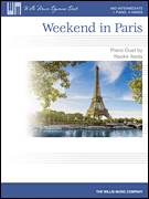 Cover icon of Weekend In Paris sheet music for piano four hands (duets) by Naoko Ikeda, intermediate piano four hands