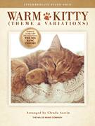 Cover icon of Warm Kitty sheet music for piano solo (elementary) by English Folk Tune (adapted), Glenda Austin and English Folk Tune, beginner piano (elementary)