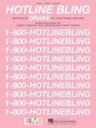 Cover icon of Hotline Bling sheet music for voice, piano or guitar by Drake, Aubrey Graham, Paul Jefferies and Timmy Thomas, intermediate skill level
