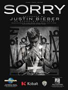 Cover icon of Sorry sheet music for voice, piano or guitar by Justin Bieber, Julia Michaels, Justin Beiber, Justin Tranter, Michael Tucker and Sonny Moore, intermediate