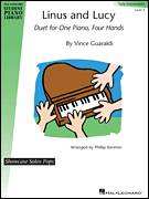 Cover icon of Linus And Lucy sheet music for piano four hands by Vince Guaraldi and Phillip Keveren, intermediate