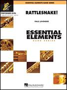 Cover icon of Rattlesnake! (COMPLETE) sheet music for concert band by Paul Lavender, intermediate