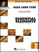 Cover icon of Auld Lang Syne sheet music for concert band (full score) by Robert Burns and Michael Sweeney, intermediate