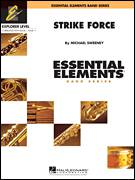 Cover icon of Strike Force (COMPLETE) sheet music for concert band by Michael Sweeney, intermediate concert band