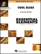Cover icon of Cool Blues (COMPLETE) sheet music for concert band by Michael Sweeney, intermediate