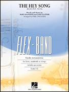 Cover icon of The Hey Song (Rock and Roll Part II) (Flex-Band) sheet music for concert band (string/electric bass) by Gary Glitter, Paul Lavender and Mike Leander, intermediate skill level