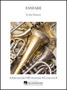Cover icon of Fanfare (COMPLETE) sheet music for concert band by Jay Dawson, intermediate