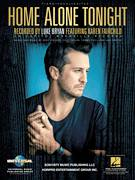 Cover icon of Home Alone Tonight sheet music for voice, piano or guitar by Luke Bryan feat. Karen Fairchild, Luke Bryan, Cole Taylor, Jaida Dreyer, Jody Stevens and Tommy Cecil, intermediate