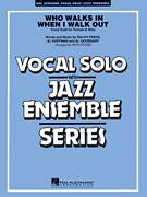 Cover icon of Who Walks In When I Walk Out? (Key: D minor) sheet music for jazz band (full score) by Al Hoffman, Rick Stitzel, Ella Fitzgerald, Louis Armstrong, Al Goodhart and Ralph Freed, intermediate skill level