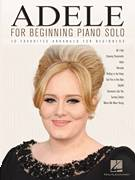 Cover icon of Chasing Pavements sheet music for piano solo (big note book) by Adele, easy piano (big note book)