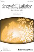 Cover icon of Snowfall Lullaby sheet music for choir (duets) by Greg Gilpin, Christmas carol score, intermediate duet