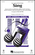 Cover icon of Sing sheet music for choir (SATB) by Sam Hollander, Mark Brymer, Pentatonix and Martin Johnson, intermediate