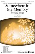 Cover icon of Somewhere In My Memory sheet music for choir (2-Part) by John Williams, Mark Hayes and Leslie Bricusse, intermediate duet