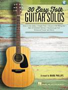 Cover icon of Michael Row The Boat Ashore sheet music for guitar solo by Mark Phillips and Miscellaneous, intermediate