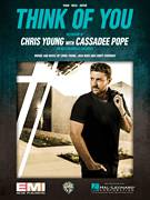 Cover icon of Think Of You sheet music for voice, piano or guitar by Chris Young with Cassadee Pope, Chris Young, Corey Crowder and Josh Hoge, intermediate skill level