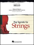 Cover icon of Hello (COMPLETE) sheet music for orchestra by Adele, Greg Kurstin and Larry Moore, intermediate