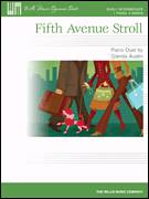 Cover icon of Fifth Avenue Stroll sheet music for piano four hands (duets) by Glenda Austin, intermediate piano four hands