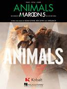Cover icon of Animals sheet music for voice, piano or guitar by Maroon 5, intermediate