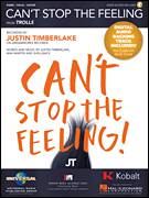 Cover icon of Can't Stop The Feeling sheet music for voice, piano or guitar by Justin Timberlake, Johan Schuster, Max Martin and Shellback, intermediate