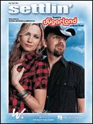 Cover icon of Settlin' sheet music for voice, piano or guitar by Sugarland, intermediate voice, piano or guitar