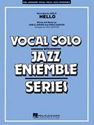 Cover icon of Hello (COMPLETE) sheet music for jazz band by Adele, Greg Kurstin and Paul Murtha, intermediate