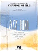 Cover icon of Chariots of Fire (COMPLETE) sheet music for concert band by Michael Brown and Vangelis, intermediate