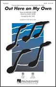 Cover icon of Out Here On My Own sheet music for choir (SATB: soprano, alto, tenor, bass) by Michael Gore, Mac Huff and Lesley Gore, intermediate