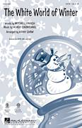 Cover icon of The White World Of Winter sheet music for choir (SATB) by Hoagy Carmichael, Kirby Shaw and Mitchell Parish, Christmas carol score, intermediate choir (SATB)
