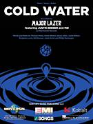 Cover icon of Cold Water sheet music for voice, piano or guitar by Major Lazer feat. Justin Bieber and MØ, Major Lazer featuring Justin Bieber and MO, Benjamin Levin, Ed Sheeran, Henry Allen, Jamie Scott, Justin Bieber, Karen Marie Orsted, Philip Meckseper and Thomas Wesley Pentz, intermediate