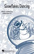 Cover icon of Snowflakes Dancing sheet music for choir (duets) by John Purifoy