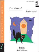 Cover icon of Cat Prowl sheet music for piano solo by Nancy Faber, intermediate/advanced skill level
