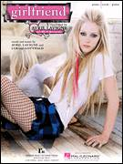 Cover icon of Girlfriend sheet music for voice, piano or guitar by Avril Lavigne and Lukasz Gottwald