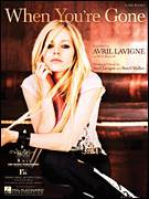 Cover icon of When You're Gone sheet music for piano solo (chords, lyrics, melody) by Avril Lavigne and Butch Walker, intermediate piano (chords, lyrics, melody)