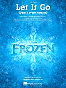 Cover icon of Let It Go sheet music for piano solo (chords, lyrics, melody) by Demi Lovato, Idina Menzel, Kristen Anderson-Lopez and Robert Lopez, intermediate piano (chords, lyrics, melody)