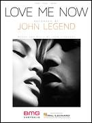 Cover icon of Love Me Now sheet music for voice, piano or guitar by John Legend and John Stephens, intermediate skill level