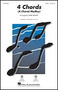 Cover icon of 4 Chords (A Choral Medley) sheet music for choir (2-Part) by Elton John, Mark Brymer and Tim Rice, intermediate duet