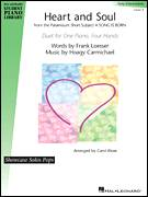 Heart And Soul for piano four hands - jazz piano four hands sheet music