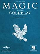Cover icon of Magic sheet music for voice, piano or guitar by Coldplay, Christopher Martin, Guy Berryman, Jonny Buckland and William Champion, intermediate