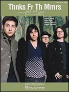 Cover icon of Thnks Fr Th Mmrs sheet music for voice, piano or guitar by Fall Out Boy, Andrew Hurley, Joseph Trohman, Patrick Stump and Peter Wentz, intermediate