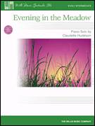 Cover icon of Evening In The Meadow sheet music for piano solo (elementary) by Claudette Hudelson, beginner piano (elementary)