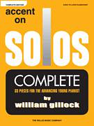Cover icon of Summertime Polka sheet music for piano solo (elementary) by William Gillock, beginner piano (elementary)