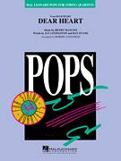 Cover icon of Dear Heart (COMPLETE) sheet music for orchestra by Henry Mancini, Jay Livingston, Ray Evans and Robert Longfield, intermediate skill level